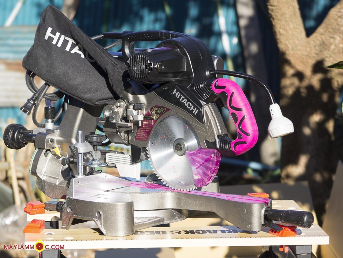 Cưa trượt Hitachi C7RSHC
